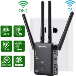 Wavlink 1200Mbps Dual Band Wifi Repeater&Router,2.4G& 5G Wir
