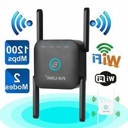 1200Mbps WiFi Extender Signal Range Booster Wireless Dual Ba