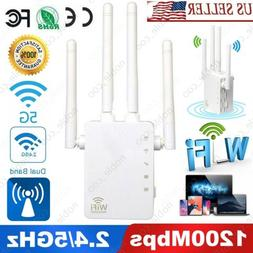 1200mbps wifi range extender repeater signal booster