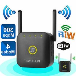 300Mbps WiFi Range Extender Wireless Network Repeater Signal