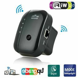 300Mbps Wifi Repeater Wireless-N 802.11 AP Router Extender S