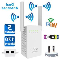 300Mbps Wifi Repeater Wireless-N Range Extender Signal Boost