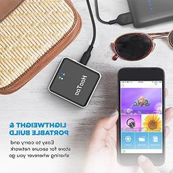HooToo Wireless Travel Router, USB Port, N150 Wi-Fi Router,