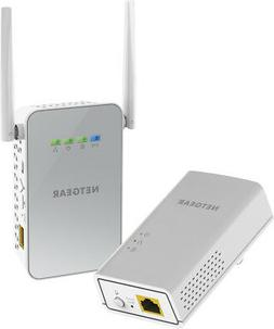 Netgear - Powerline Wi-fi 1000 Access Point And Adapter - Wh