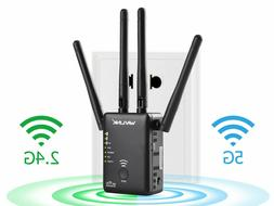 Wavlink AC1200 Dual Band Wifi Repeater&Router,2.4G&5G Wirele