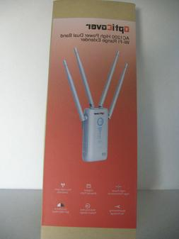 OptiCover AC1200 High Power Dual Band Wi-Fi Range Extender