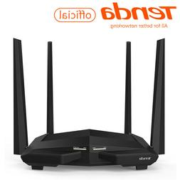 Tenda AC1200 Dual Band Smart WiFi Router, Wireless Internet