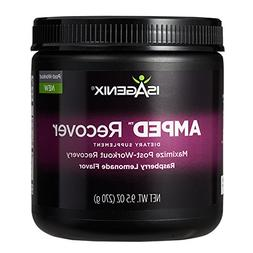 Isagenix AMPED Recover 9.5 oz  Raspberry Lemonade Flavor