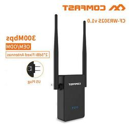 COMFAST 300Mbps 2.4G Wireless Repeater WiFi Range Extender S
