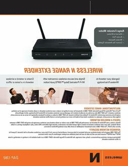 D-Link DAP-1360 Wireless N Access Point Range Extender WiFi