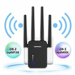 Dual Band 150Mbps WiFi Repeater Wireless Router Range Extend