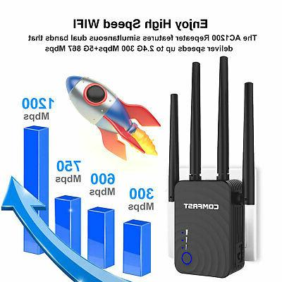 1200Mbps WiFi Range Booster Band