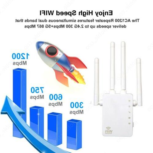 1200Mbps Range Repeater Amplifier Router