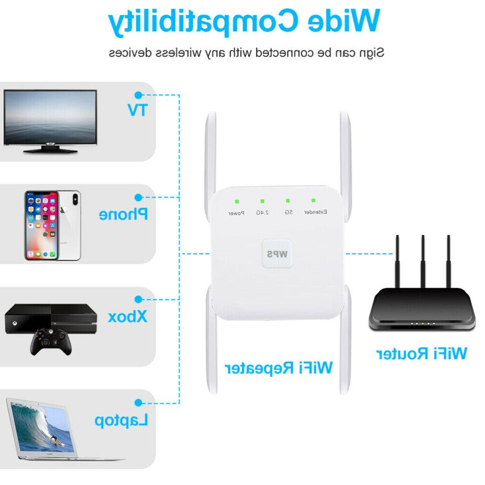 1200Mbps Wifi Repeater Range Extender Signal Network