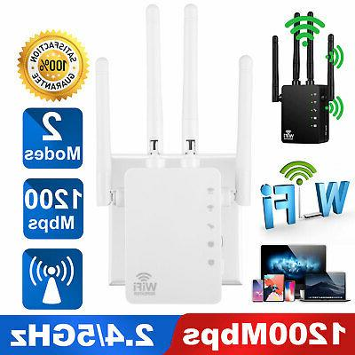 1200mbps wifi repeater wireless extender dual band