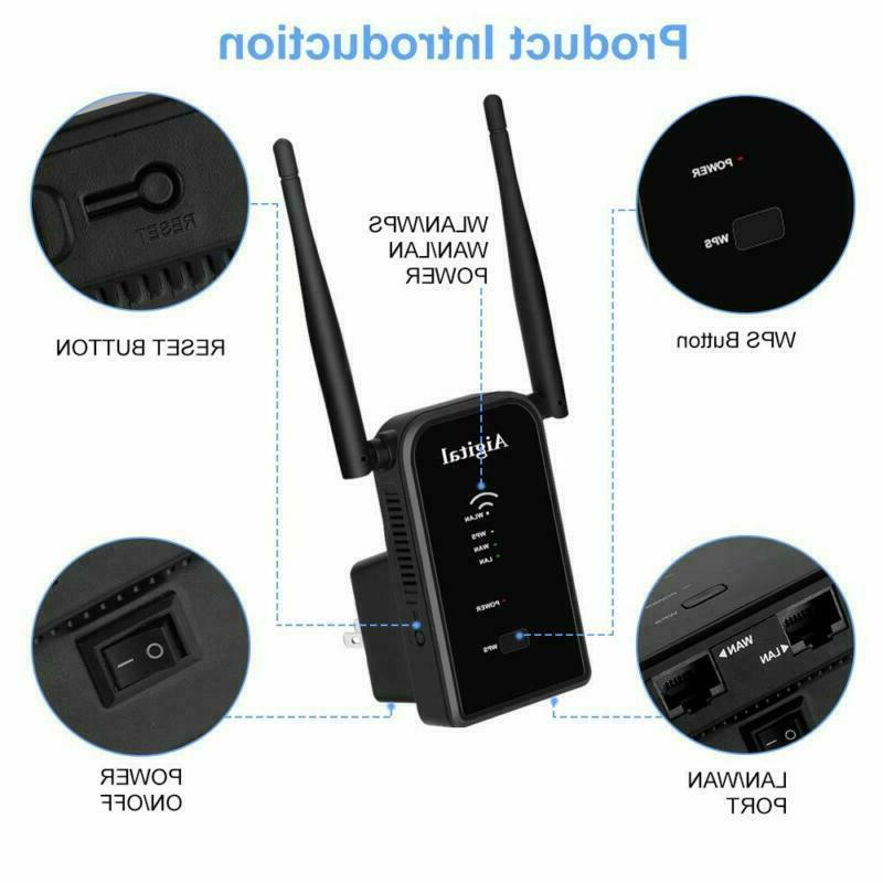 300Mbps Aigital Wireless Button WiFi Sign