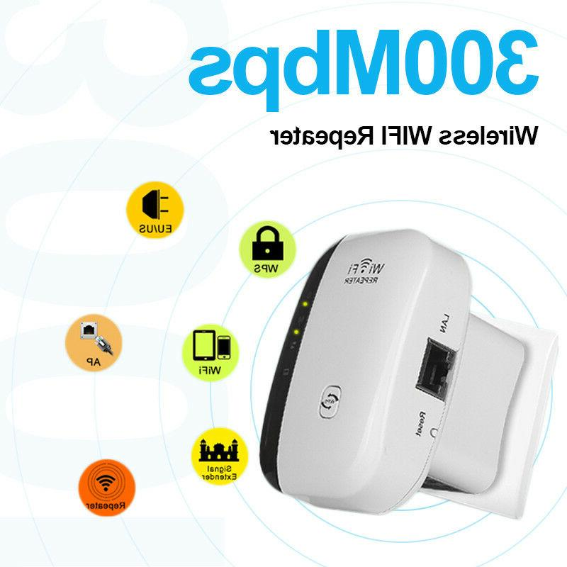 300Mbps AP Range 802.11 Wifi Repeater Signal Extender Booster