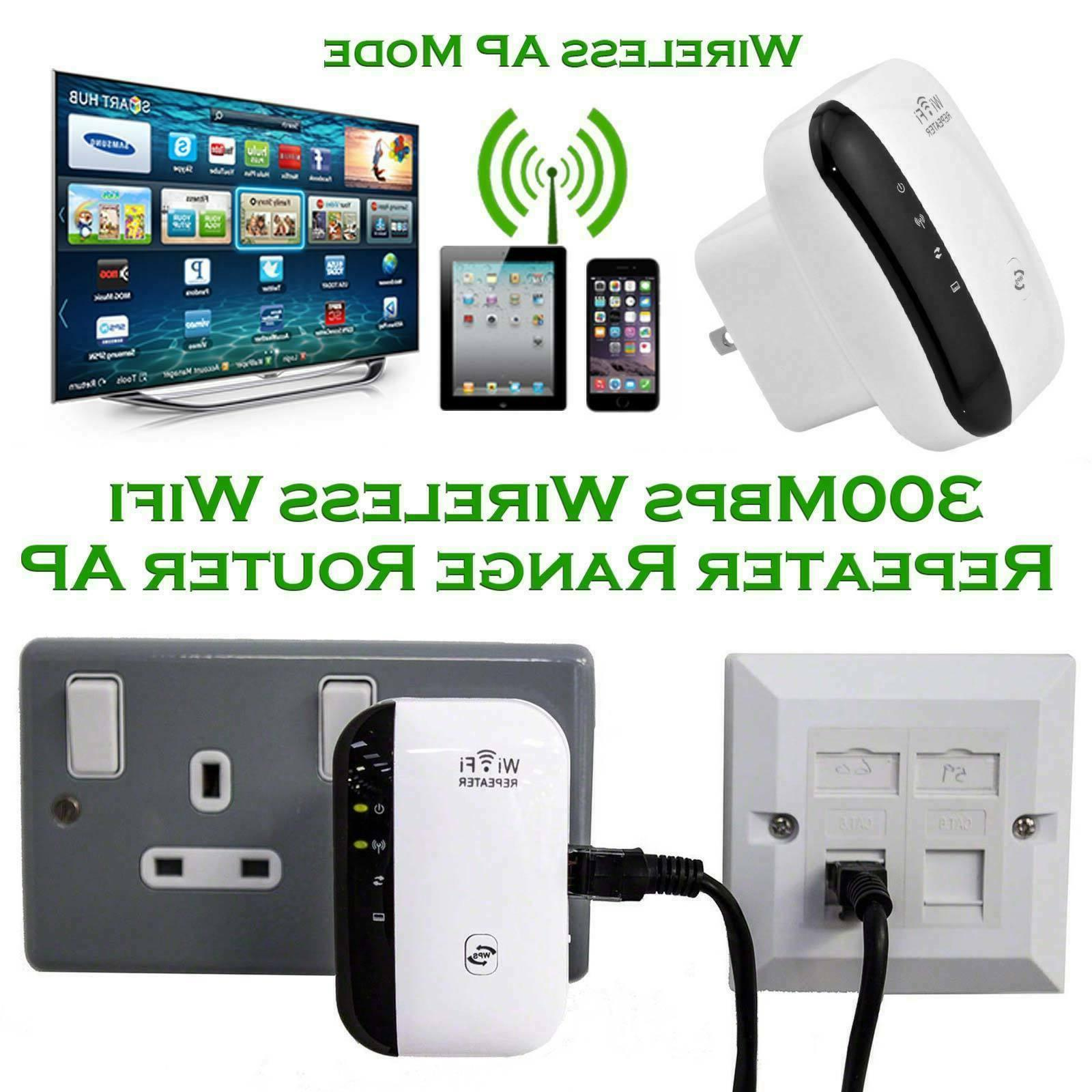 300Mbps 802.11 Network Signal Extender Booster