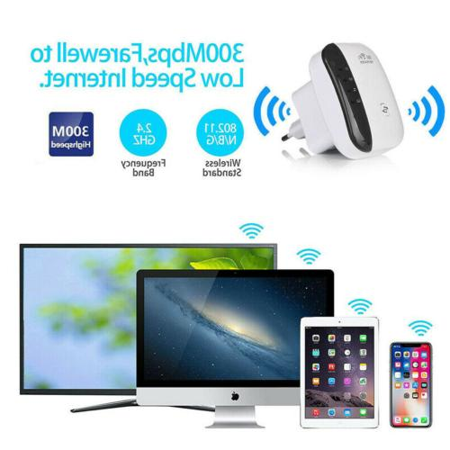 300Mbps Wireless Amplifier Blast Extender US