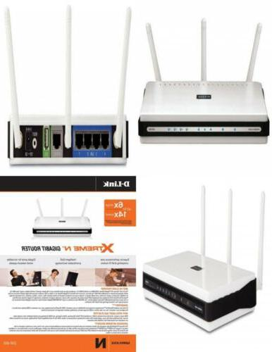D-Link Wireless N300 Mbps Extreme-N Gigabit Router