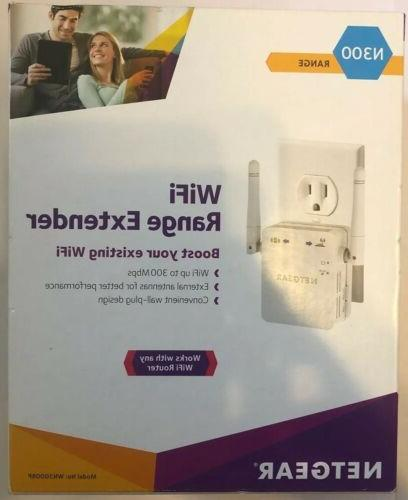 NETGEAR - Universal Wi-Fi Range Extender with Ethernet port