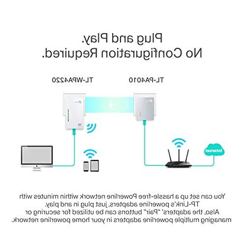 TP-Link Extender with N300 WiFi, Saving, Ethernet