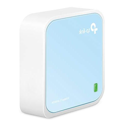TP-Link N300 Wireless Nano Travel Router WiFi Bridge/Range Extender/Access