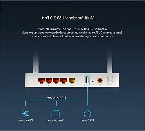 TOTOLINK Band Gigabit Router with MU-MIMO and USB