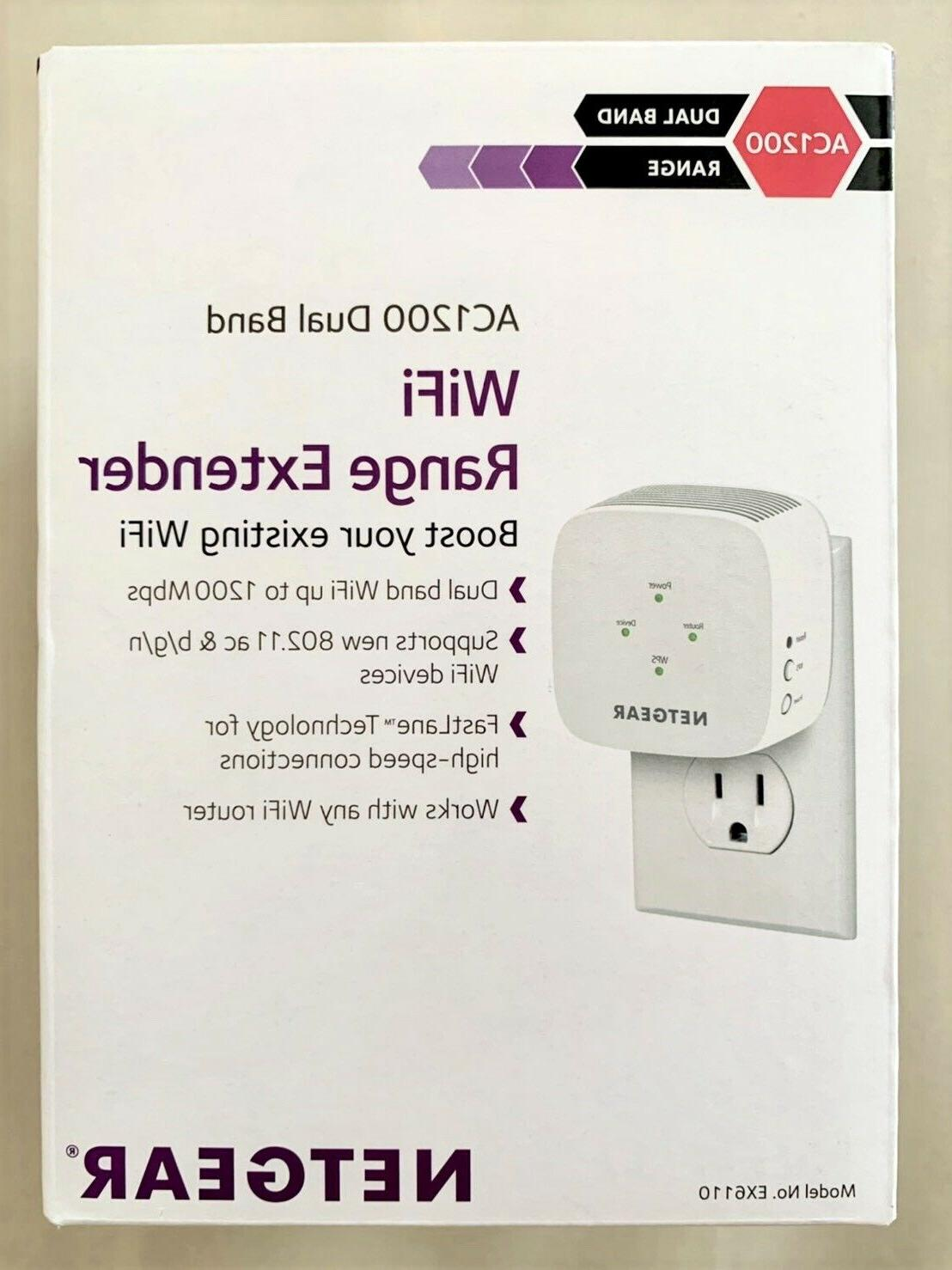 ac1200 dual band wifi range