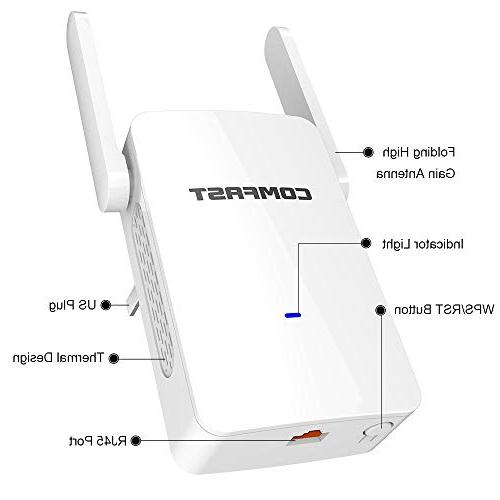 COMFAST Extender Dual Wi-Fi Repeater/Access to Home & Alexa Devices