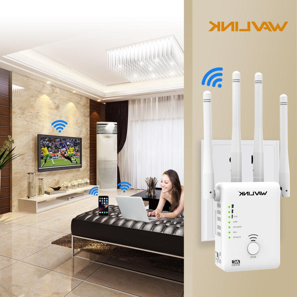 Wavlink AC1200 WIFI Repeater,2 4G&5G 1200mbps Router&
