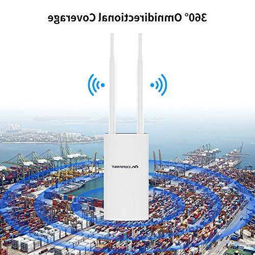 COMFAST AC1200 High Power Outdoor with Poe, 300Mbps or Dual Band Access Points/Router/Bridge, Used Outdoor WiFi
