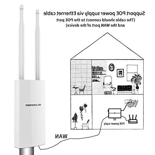 Outdoor Point with Poe, 300Mbps or Band 802.11AC Access Outdoor