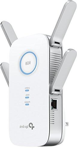 TP-Link AC1900 Wi-Fi Extender Ethernet Port, Extends to Smart Home & Alexa Devices,