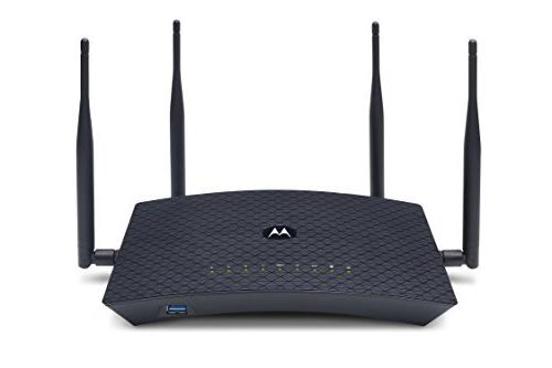 MOTOROLA AC2600 4x4 WiFi Smart Gigabit Router with Extended