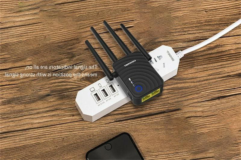 COMFAST Dual Band 1200Mbps WiFi Extender Network
