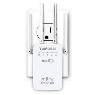 dual band 300mbps wireless wifi range extender