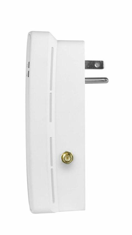 Amped Plug-In Ac1200 Wi-Fi Extender With Out