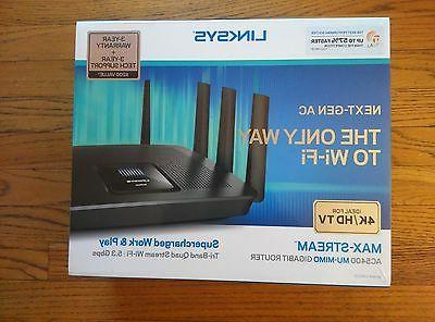 802.11ac Ethernet Router - GHz Band GHz UNII Band - Mbit/s Wireless Speed 8 x Network - Port - USB