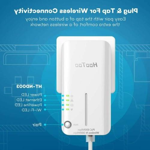 HooToo Extender, Adapters, Networking Kit