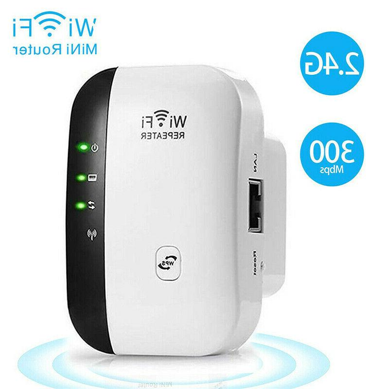 NEW 300Mbps Wireless Repeater Signal Super Amplifier Extender