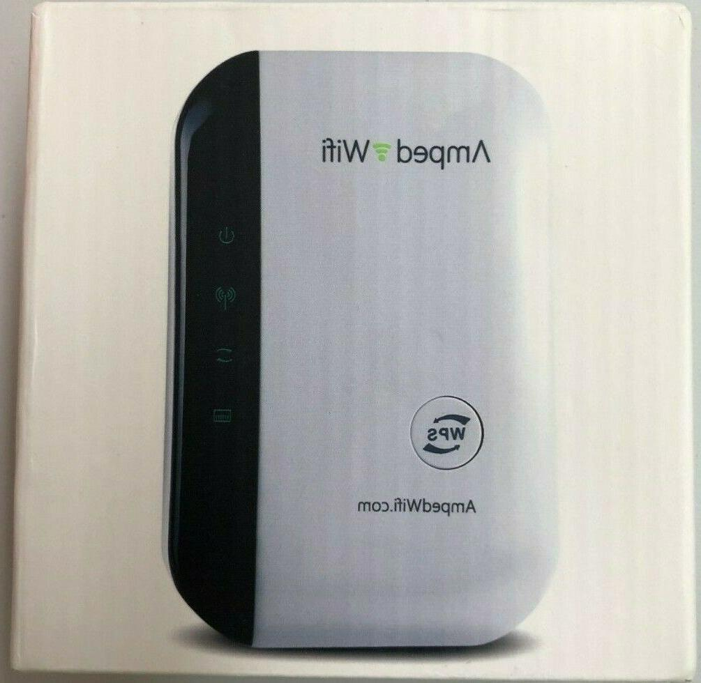 new sealed amped wifi wireless n repeater