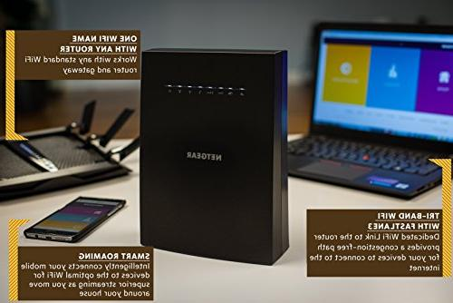 NETGEAR Mesh your own whole mesh WiFi to eliminate dead