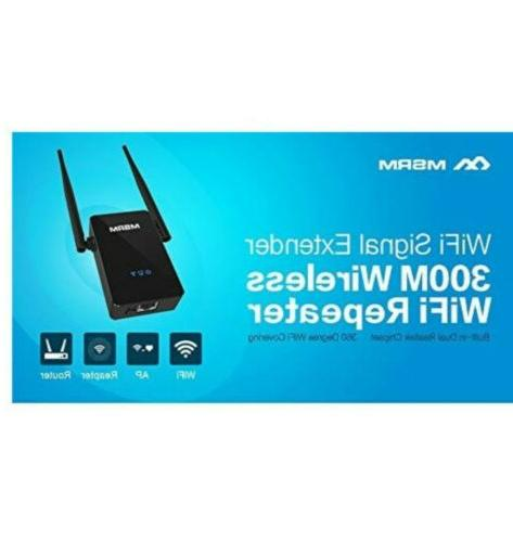 MSRM US302 Wi-Fi Extender With External