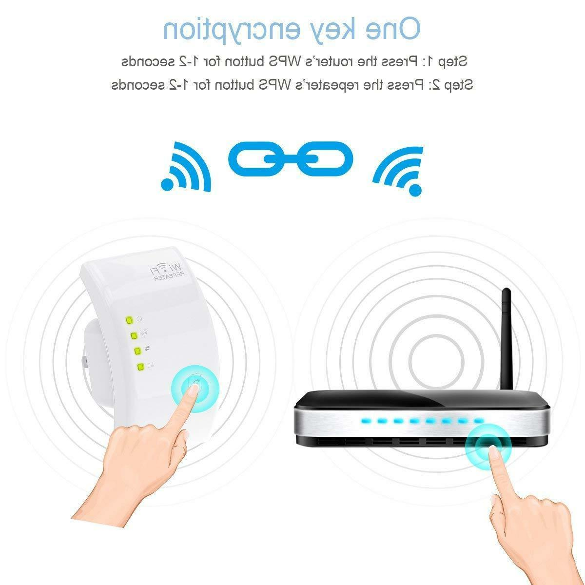 Wi-Fi Extender, MECO Wireless Repeater 300Mbps Signal