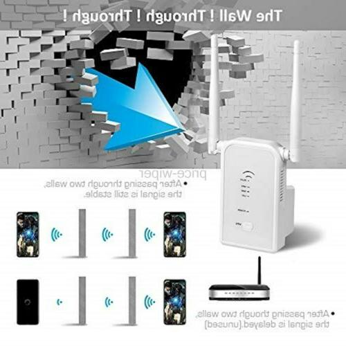 Aigital WiFi 300Mbps Wireless Repeater Signal Booster Access