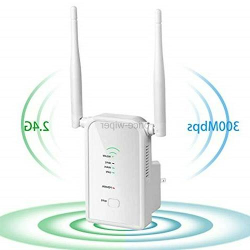 Aigital WiFi Extender 300Mbps Wireless Repeater Signal Booster