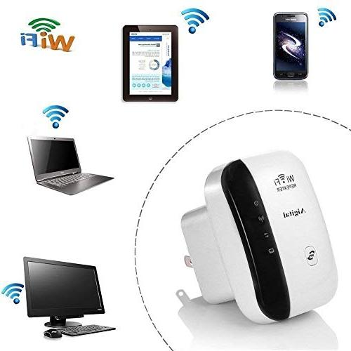 WiFi Long Aigital Wireless Signal Booster Adapter, Easy Setup New Chip