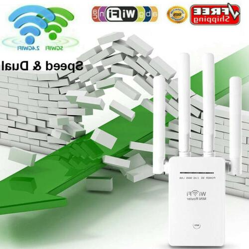 wifi extender signal range booster wireless 1200mbps
