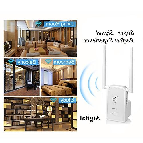 WiFi Extender Wireless Booster Point/Repeater/Router Extend Home&Alexa -2.4GHz
